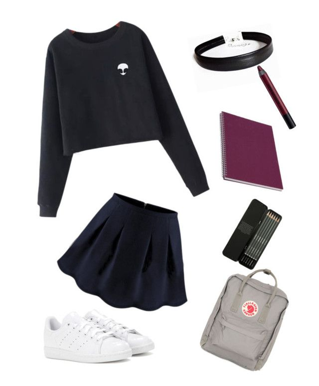 """alien"" by valeriapatriciamosquera on Polyvore featuring Chicnova Fashion, WithChic, adidas, Urban Decay and Fjällräven"