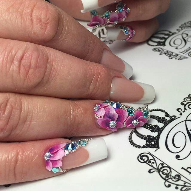 Pin By Mercedes Sanchez Ramos On Uas Pinterest Manicure Beauty