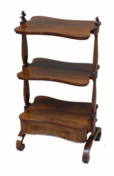OnlineGalleries.com   Antique Regency Rosewood Whatnot. Furniture ...