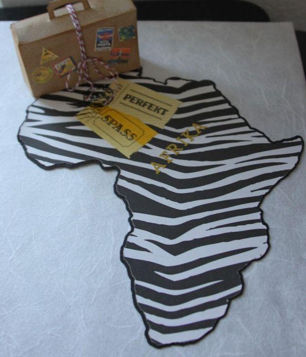 Geldgeschenk Fur Eine Safari Nach Afrika Geschenke Diy Hochzeitsgeschenk Geldgeschenke