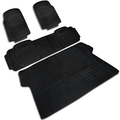Specd Mat3201blk Black All Weather Floor Mats 4pcs Want To Know More Click On The Image This Is An Affiliate Link And I Rubber Floor Mats Flooring Car Accessories