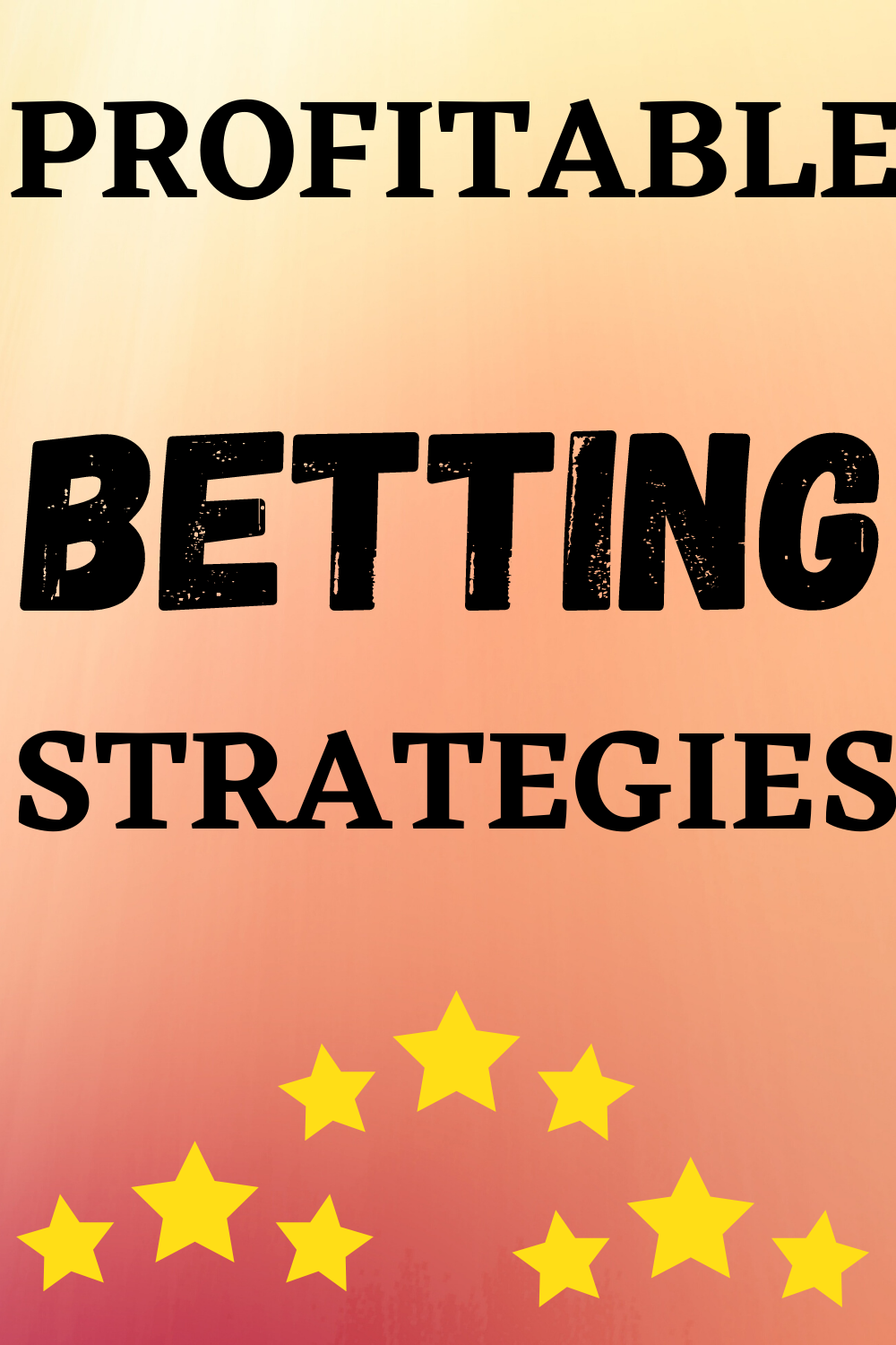 Sports betting for profit zahnarzt dr. bettinger pforzheim