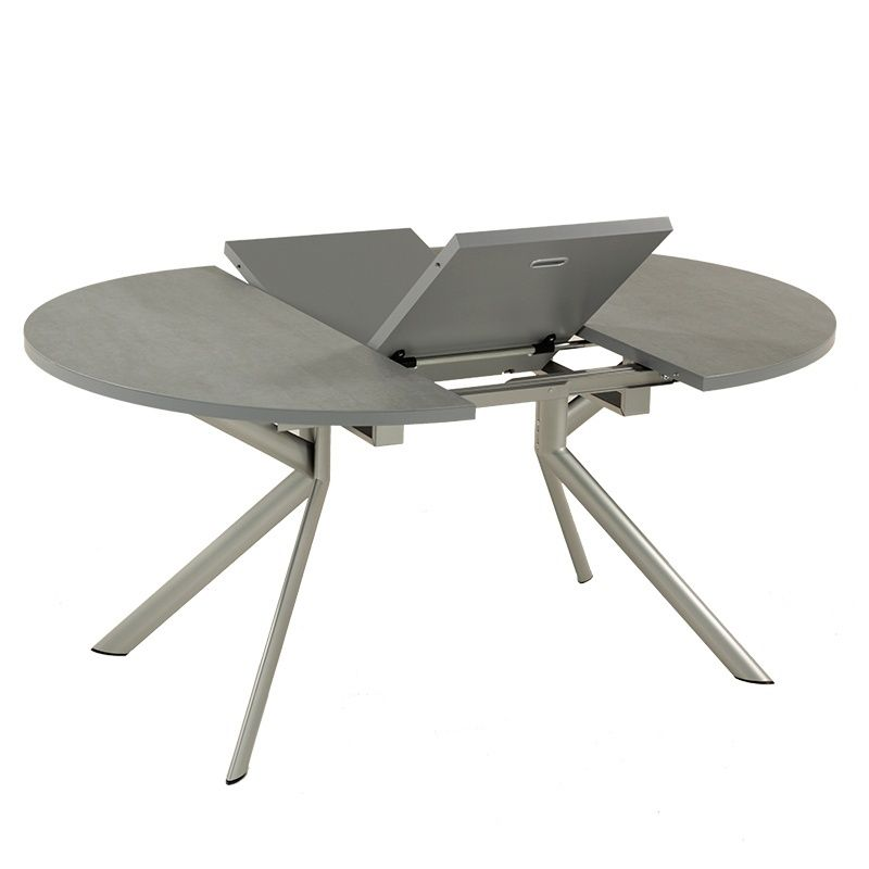 table ronde extensible en c ramique giove connubia salons
