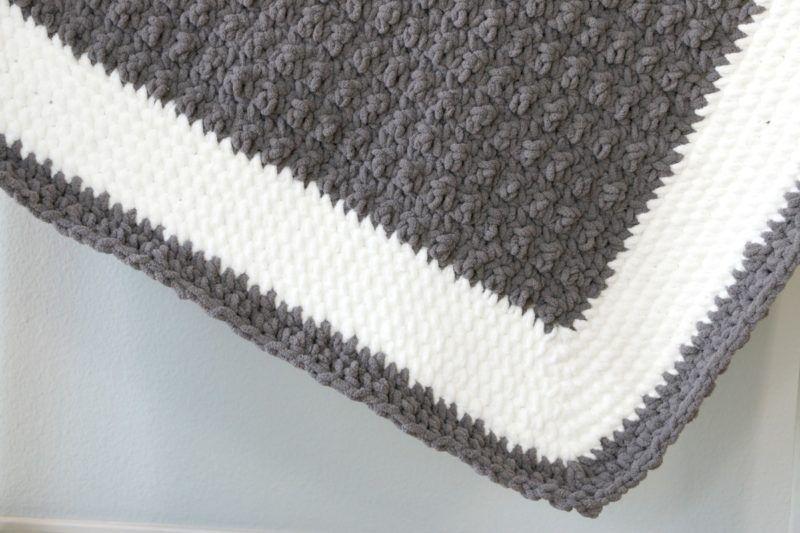 Beginner Border Crochet Baby Blanket | Crochet Projects | Pinterest ...