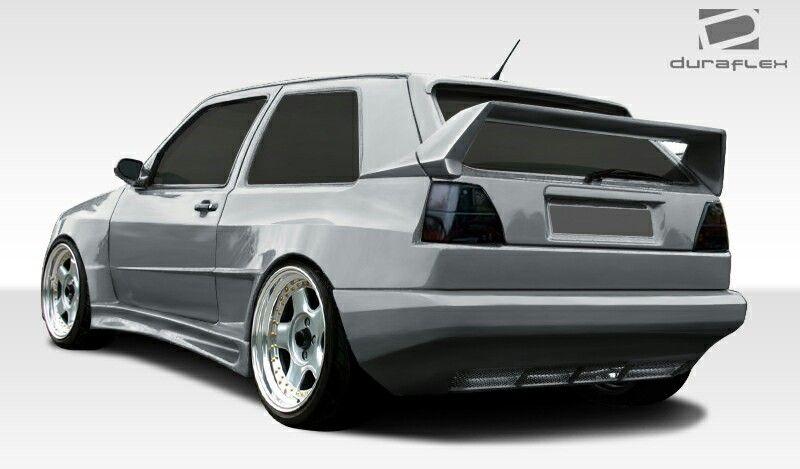 Nice Golf Mk2 Widebody