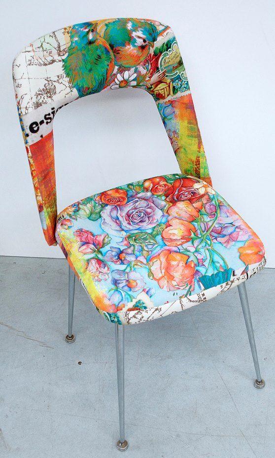 chaises actualis e par atelier d 39 co solidaire r cup 39 cr ative pinterest. Black Bedroom Furniture Sets. Home Design Ideas