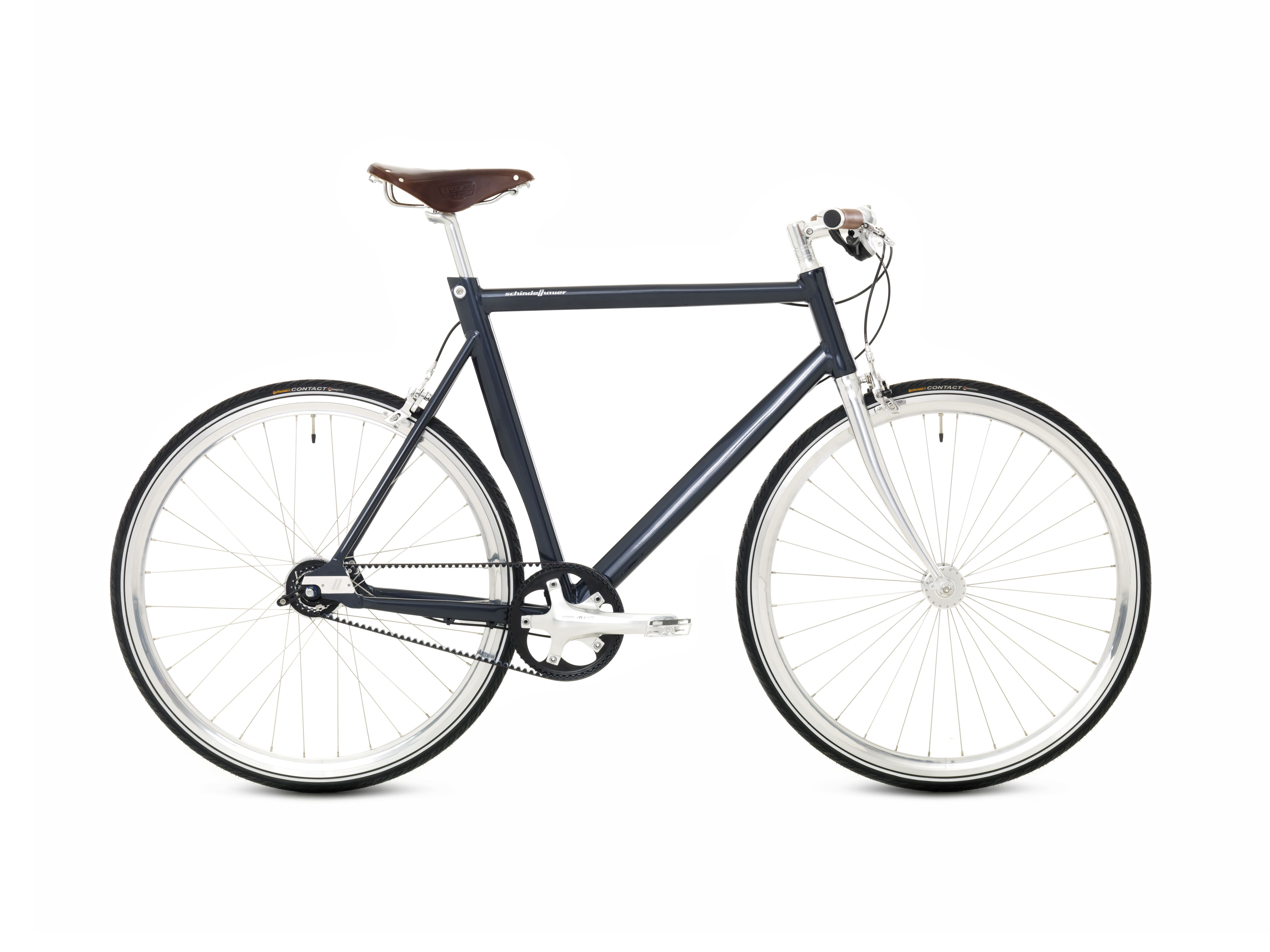 Schindelhauer Ludwig midnight blue. Ludwig is our light touring bike ...