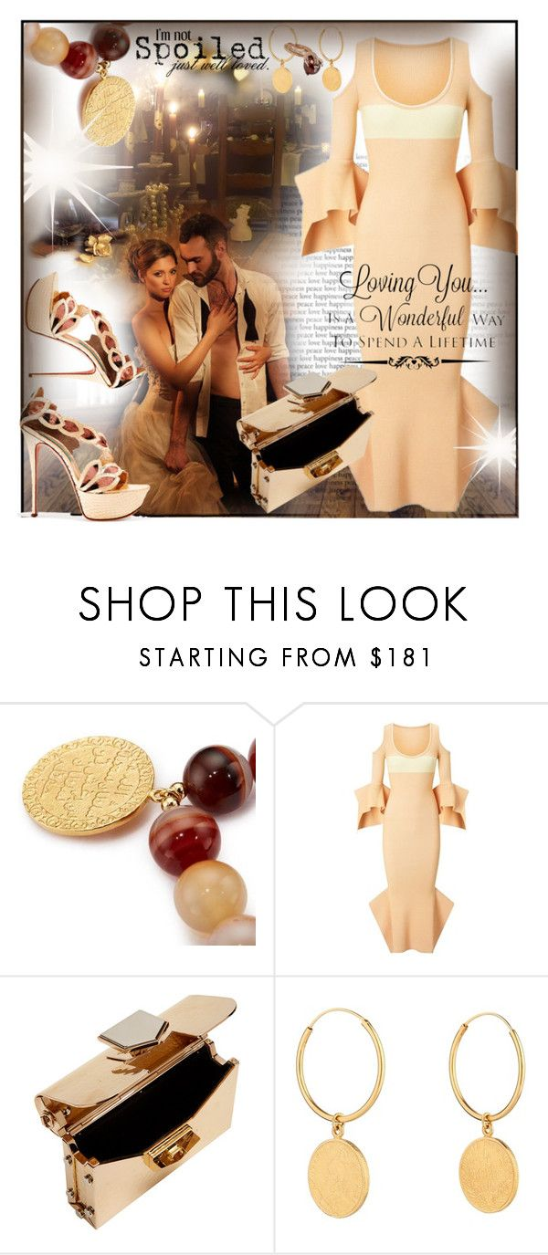 """Lifetime Love~"" by rj-cupcake ❤ liked on Polyvore featuring Pembe Club, Roland Mouret, Jimmy Choo, Skyler Man and WALL"