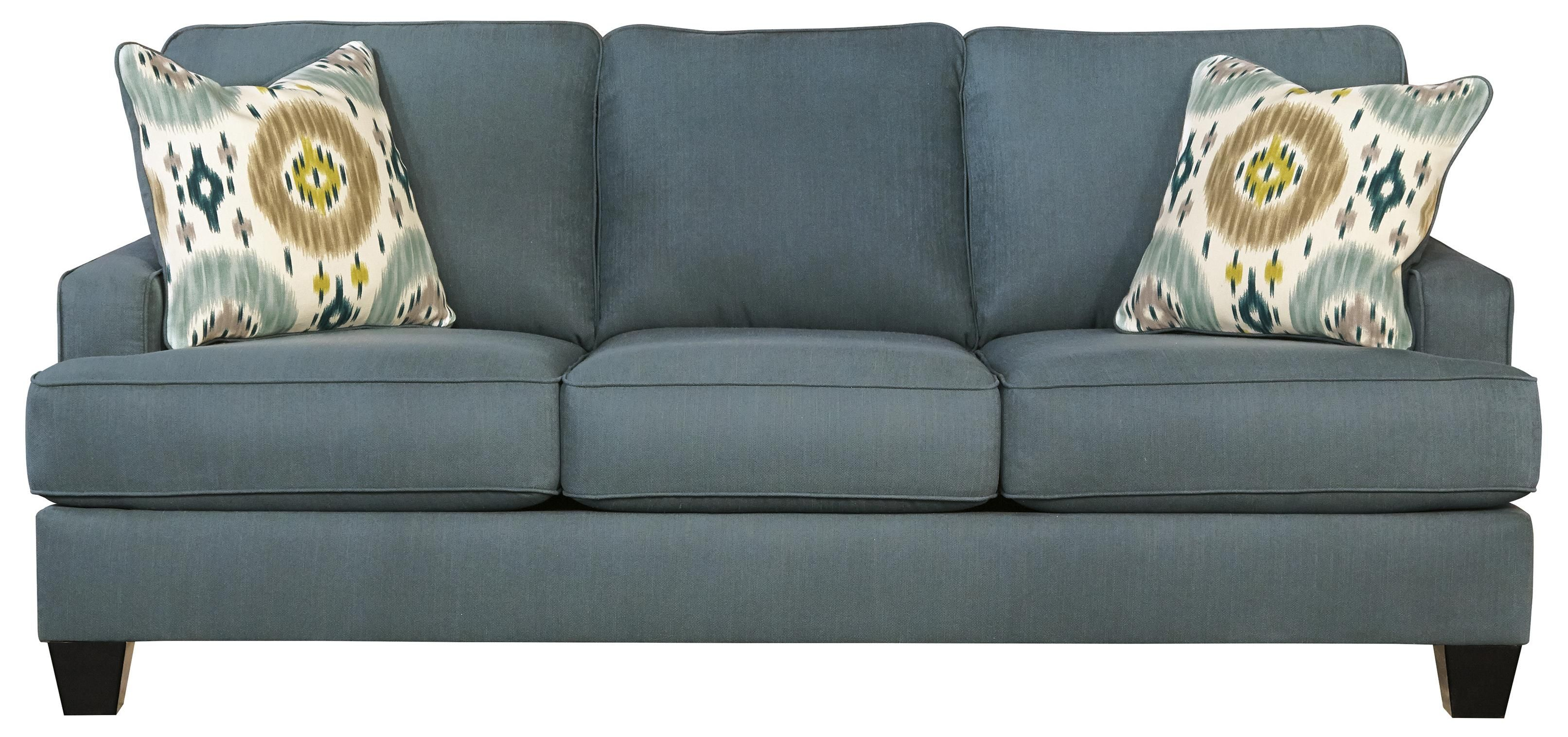 Awesome Brileigh   Teal Sofa By Benchcraft
