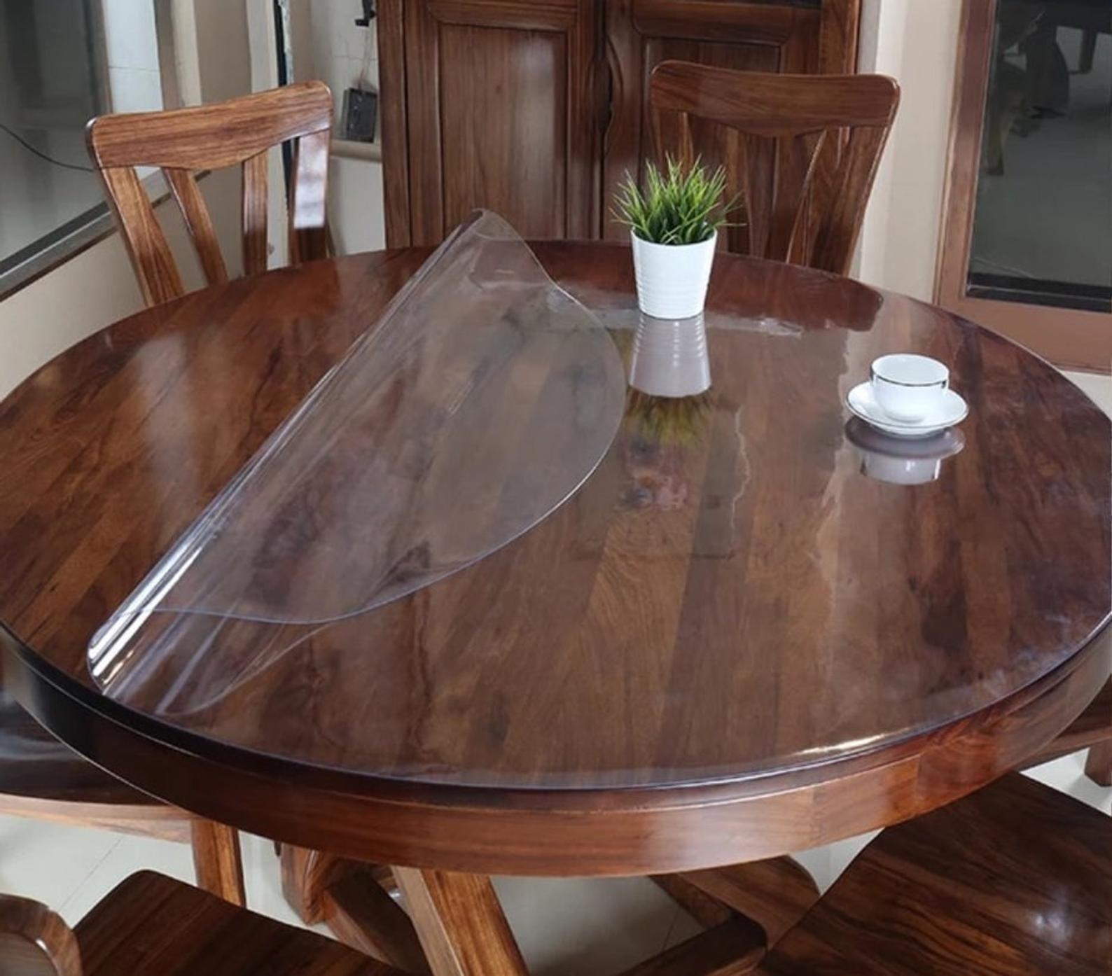 imperméable nappe Clear pvc table /& surface protecteur qualité premium