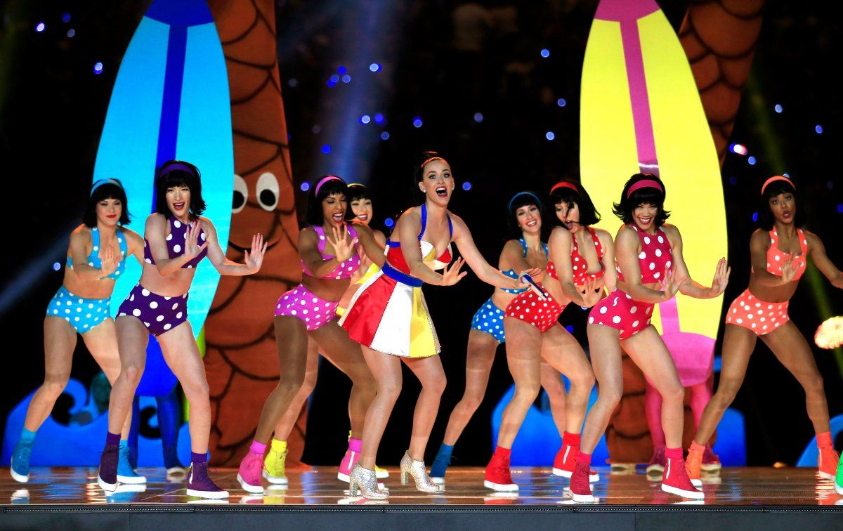 Katy Perry Super Bowl Dancers W Pinterest Group U Pin It Here