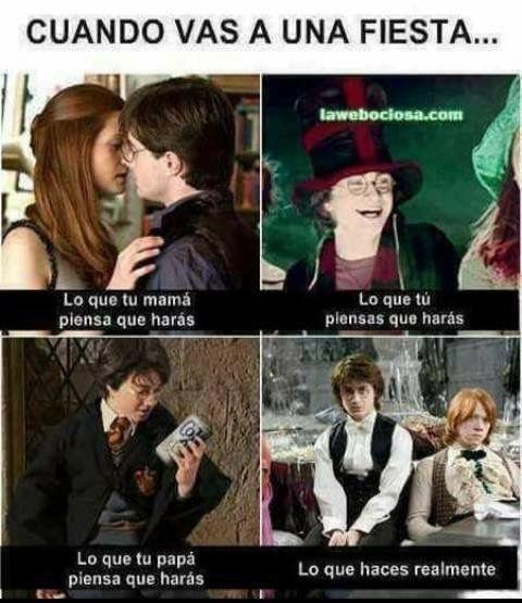 Resultado de imagen de memes harry potter español
