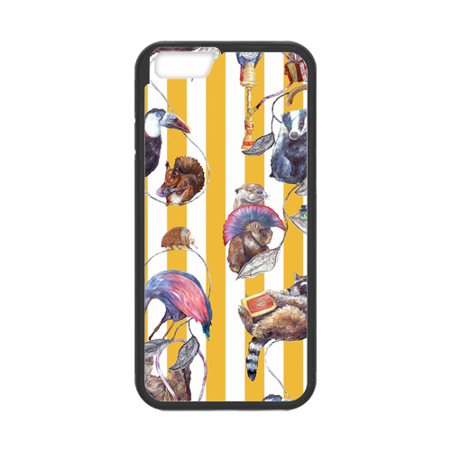 Kate Spade Hackney Empire Yellow Stripe Case for iPhone 6