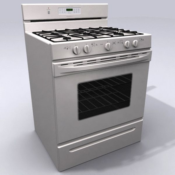 Gas Stove Kitchen 3d Max | Неделя 4  электроника | Pinterest | Gas Stove,  Stove And 3d