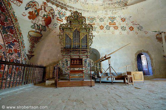 Templo San Jeronimo Church, Tlacochahuaya, Oaxaca organ