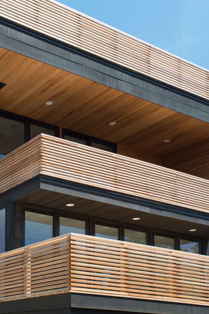 Best Simple Modern Wood Deck Or Patio Railing Balcony 640 x 480