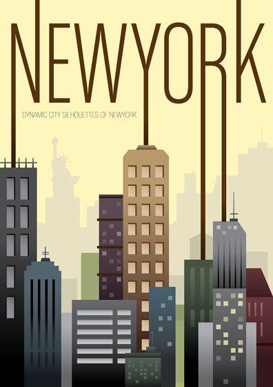 Newyork Typography Travel Posters Vintage Travel Posters Vintage Travel