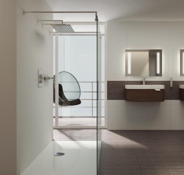 Receveur de douche extra plat pour la salle de bain moderne