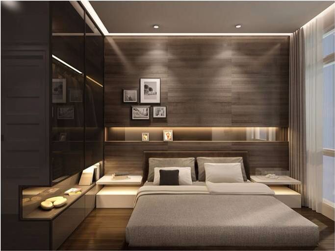 Austonian Luxury Condo - Contemporary - Bedroom - Austin - by ...