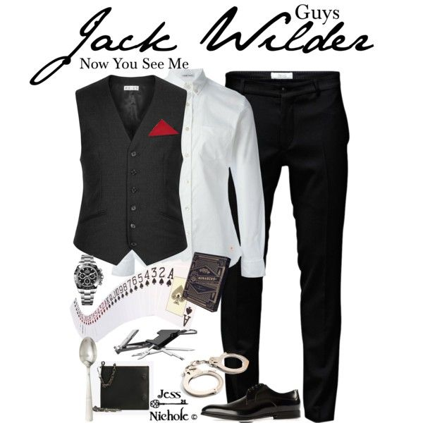 Outfit Inspiration: Guys: Jack Wilder