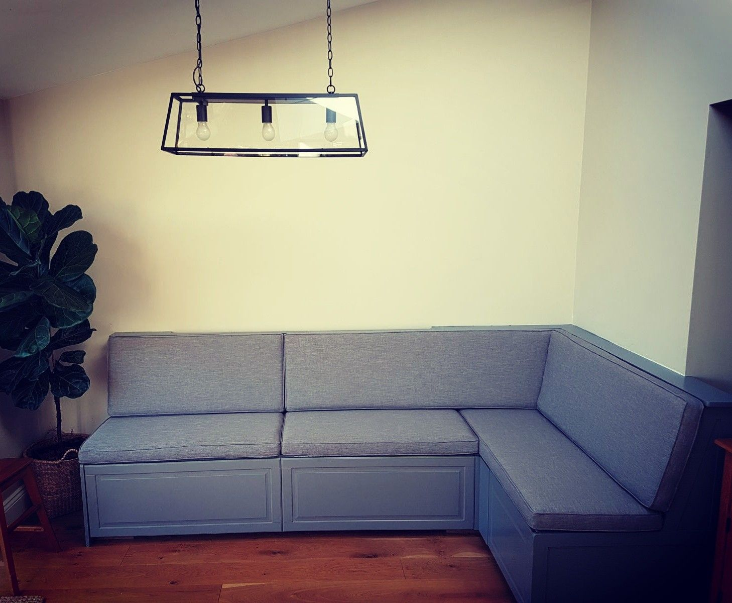 Bench seating by Simon Houlding Upholstery 20years