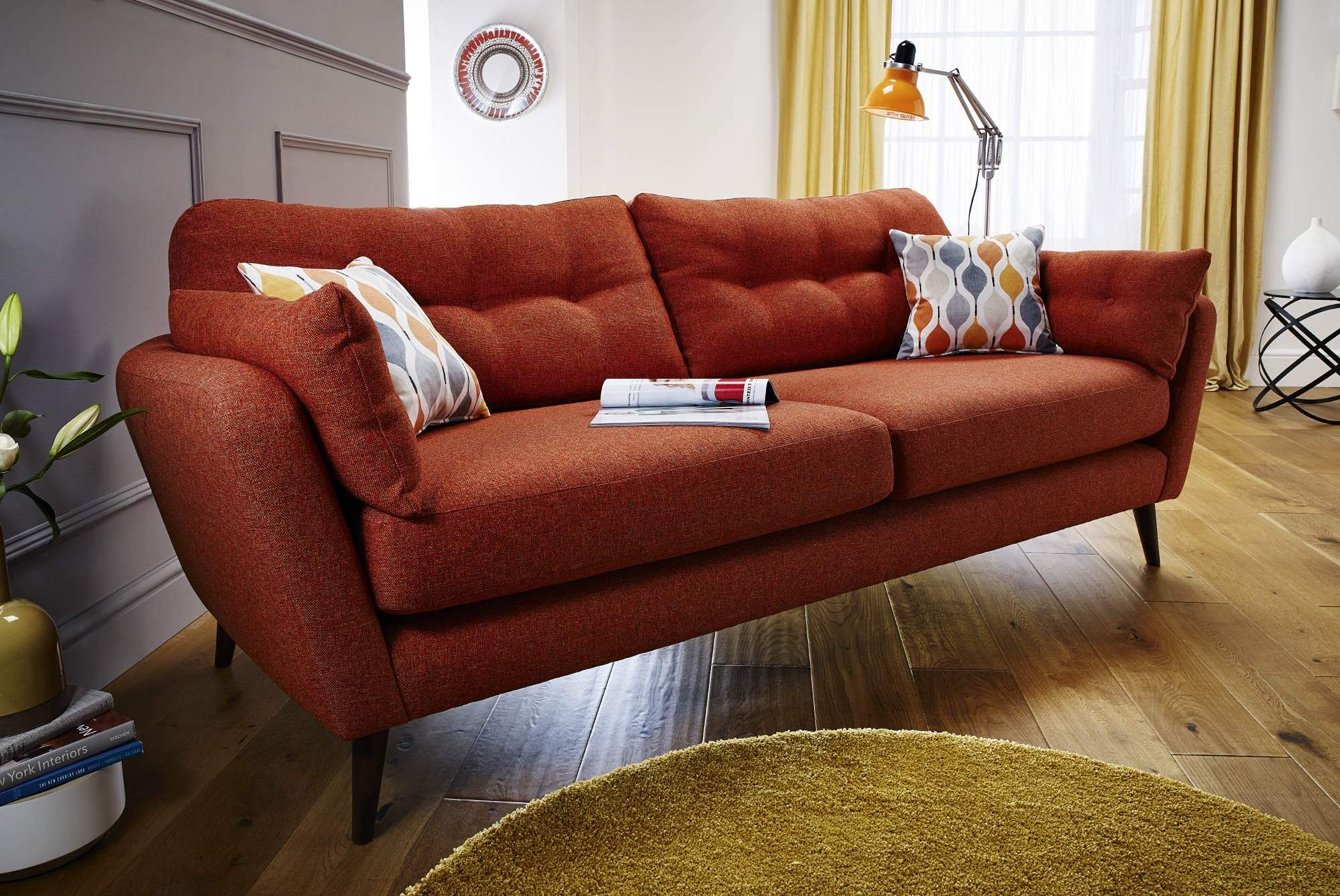 30 Comfortable Small Sofa Designs For Your Small Living Room With