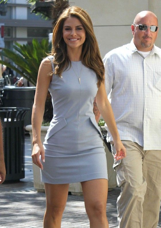 maria menunos hot | Maria Menounos – Hot in short dress At the Set ...