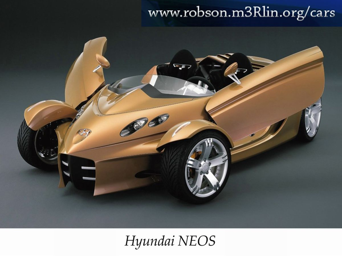 Wonderful Hyundai Neos Concept 2000 Exotic Car Picture Of 6 : DieselStation