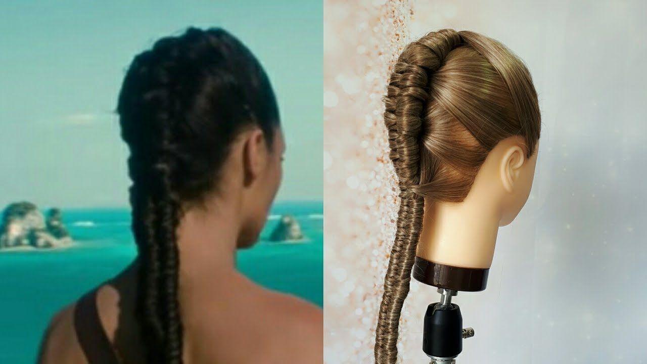 Trenza Mujer Maravilla Wonder Woman Braid Hair Infinity Braid Trenz Peinados Con Coleta Mujer Maravilla Peinados De Mujer