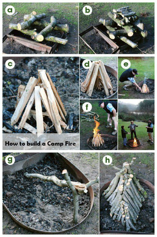 How to build a Camp Fire #SurvivalistCountry #campfire