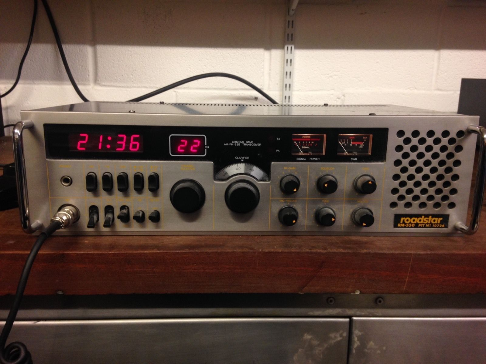 Roadstar Rm-550 Ssb Base Cb Radio Very Rare!! | would love to get