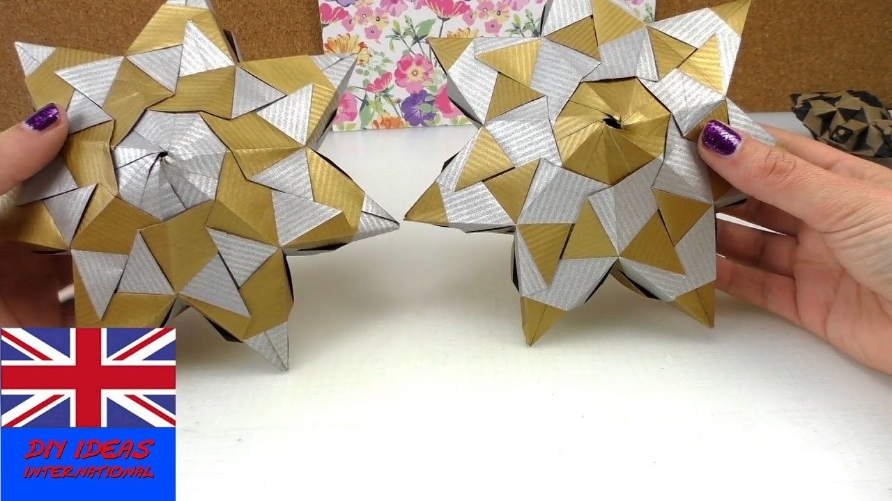 How To Make An Origami Star For Christmas Origami Star