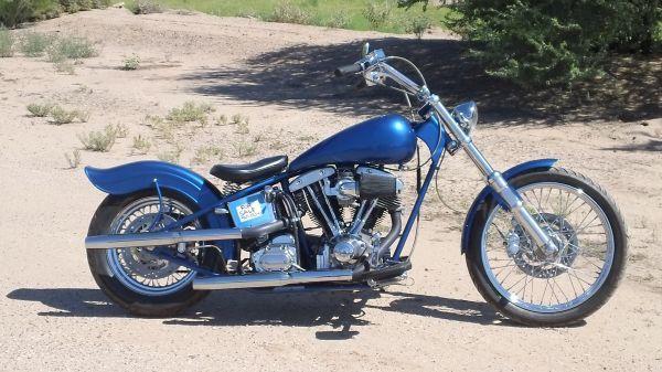 Harley 1978 Reconstructed Shovelhead Chopper   Shovelhead ...