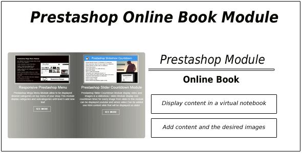 Prestashop Online Book Catalog Module | Website and Template