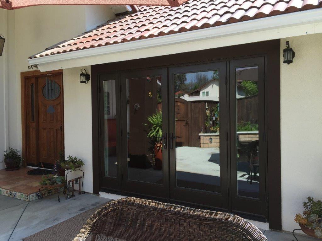 ultra patio doors refresh a hacienda style home milgard valley
