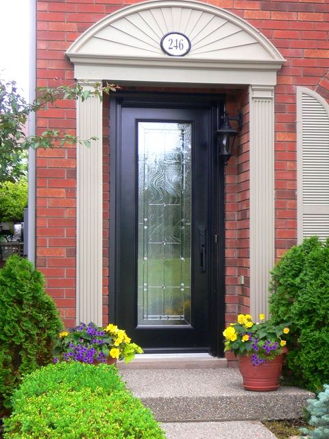 Everything you need for Burlington Milton Mississauga and Oakville windows and doors inside and out. Get custom windows doors shutters and blinds. & Trubilt custom door   Windows Doors Shutters Blinds   Pinterest ...