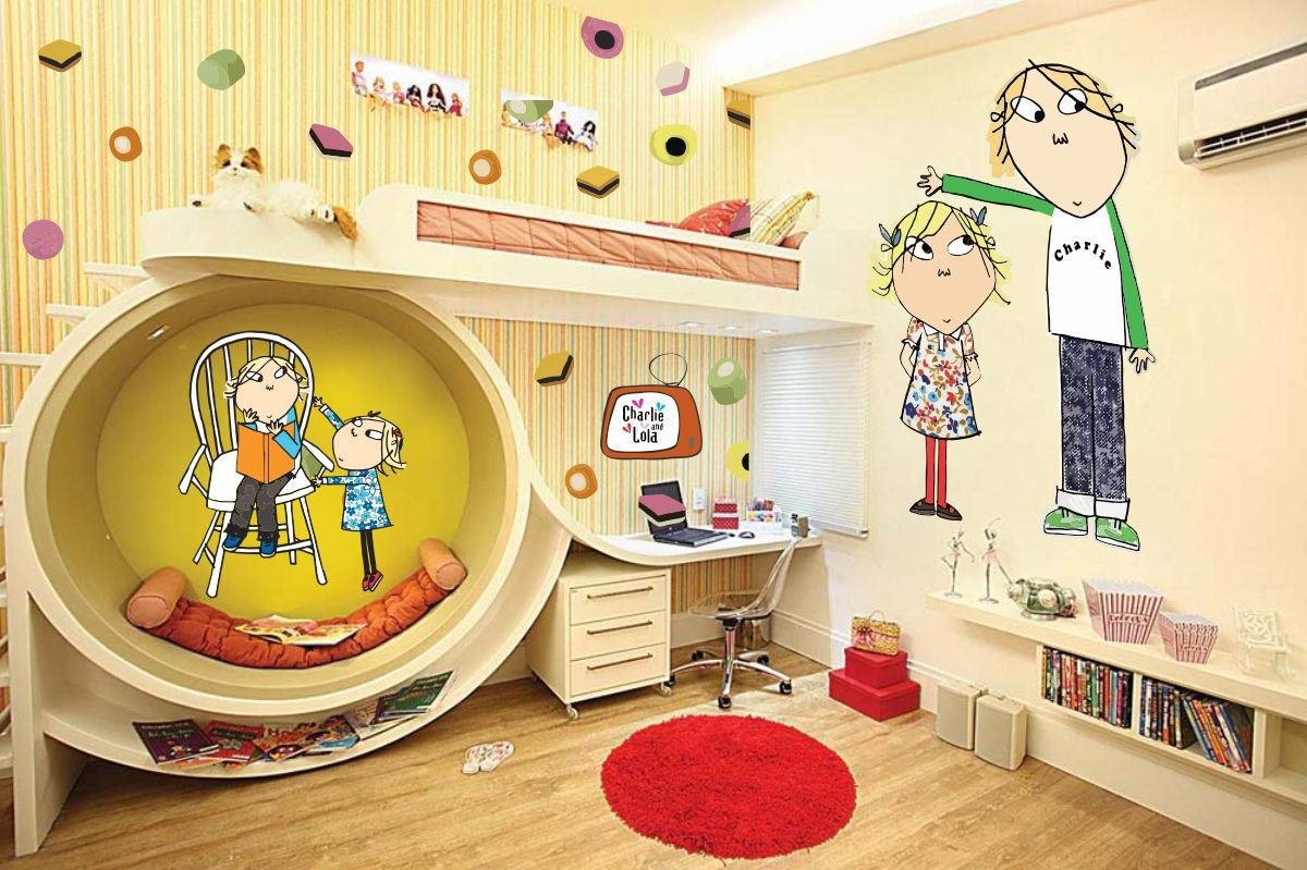 Charlie And Lola Wall Stickers Charlie And Lola Wall Stickers Peenmedia Com