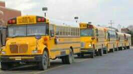 School Buses Lining Up At East Columbus Elementary School In Columbus Ohio School Bus Bus Line Bus