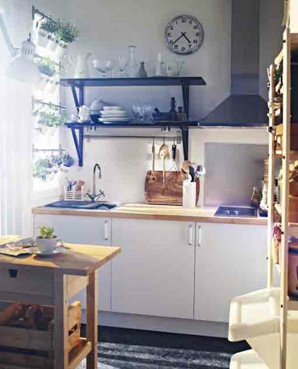 Comment amenager une petite cuisine ? | Comment aménager une petite cuisine, Amenagement petite ...