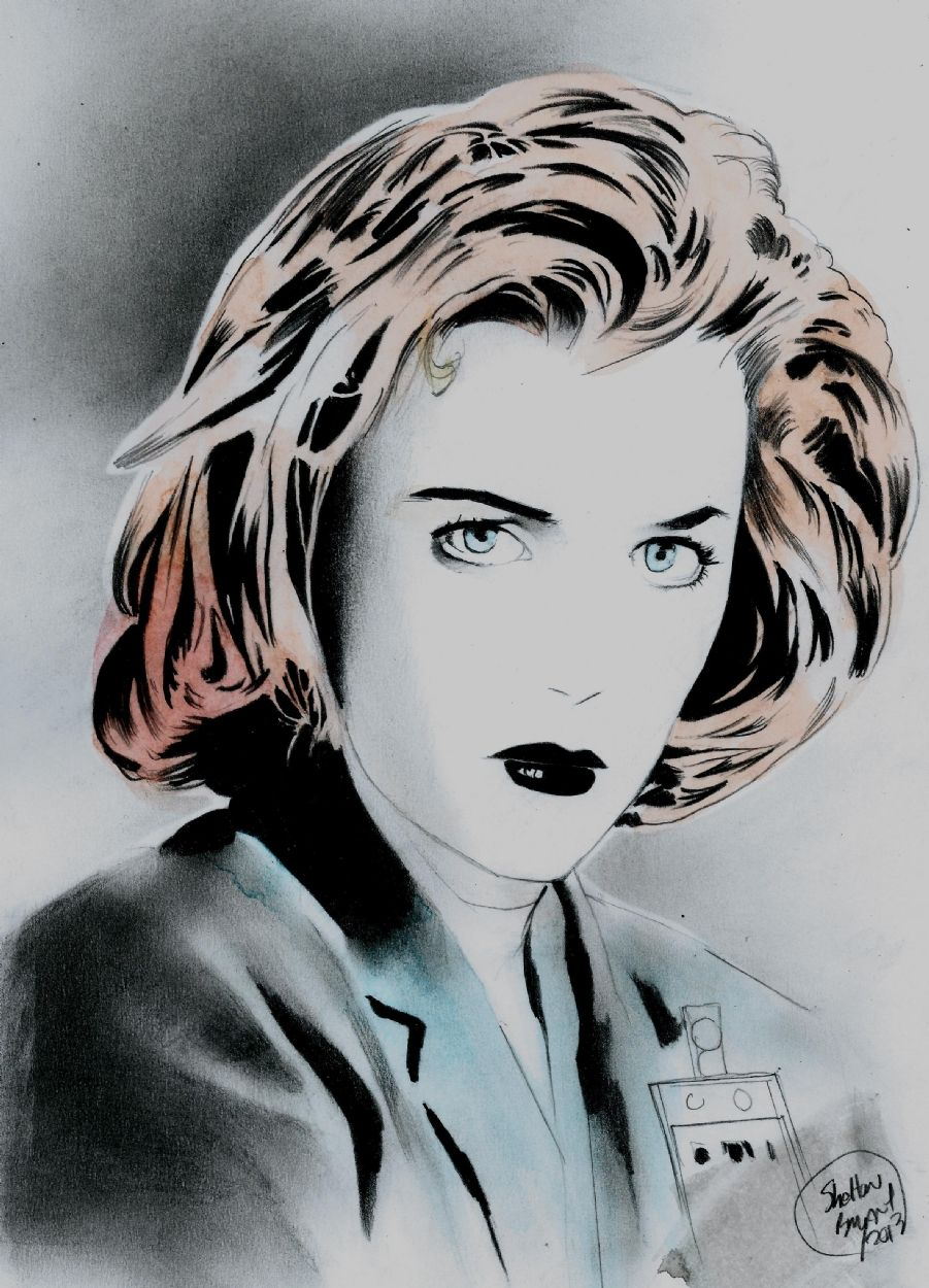 The X-Files - Dana Scully by Shelton Bryant *