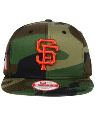 New Era San Francisco Giants State Clip 9FIFTY Snapback Cap - Green Adjustable