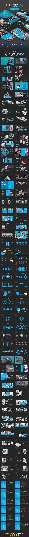 Dark Modern 2018 Powerpoint Business PowerPoint Templates