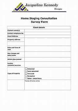Image Result For Home Staging Contract Template  The Main Stage