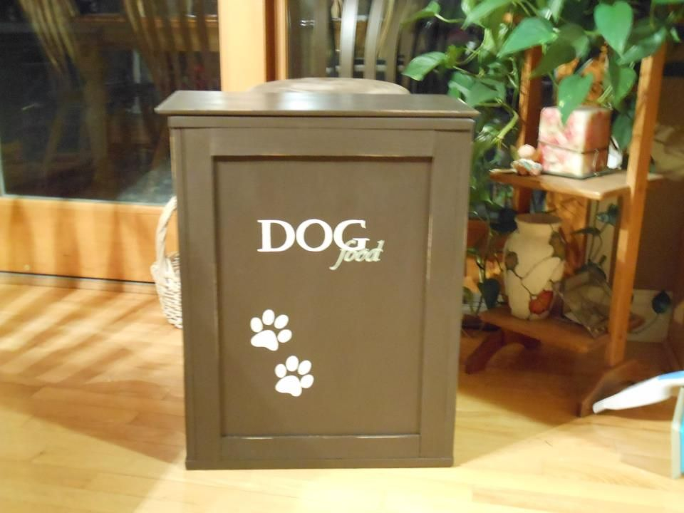 Dog Food Container Dog food container, Cheap dog cages