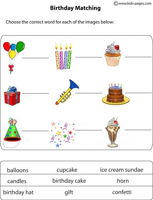 happy birthday worksheets hand outs pinterest worksheets english lessons and phonics. Black Bedroom Furniture Sets. Home Design Ideas