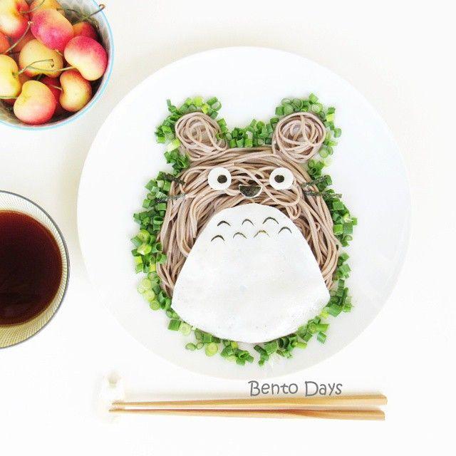 Simple Totoro soba