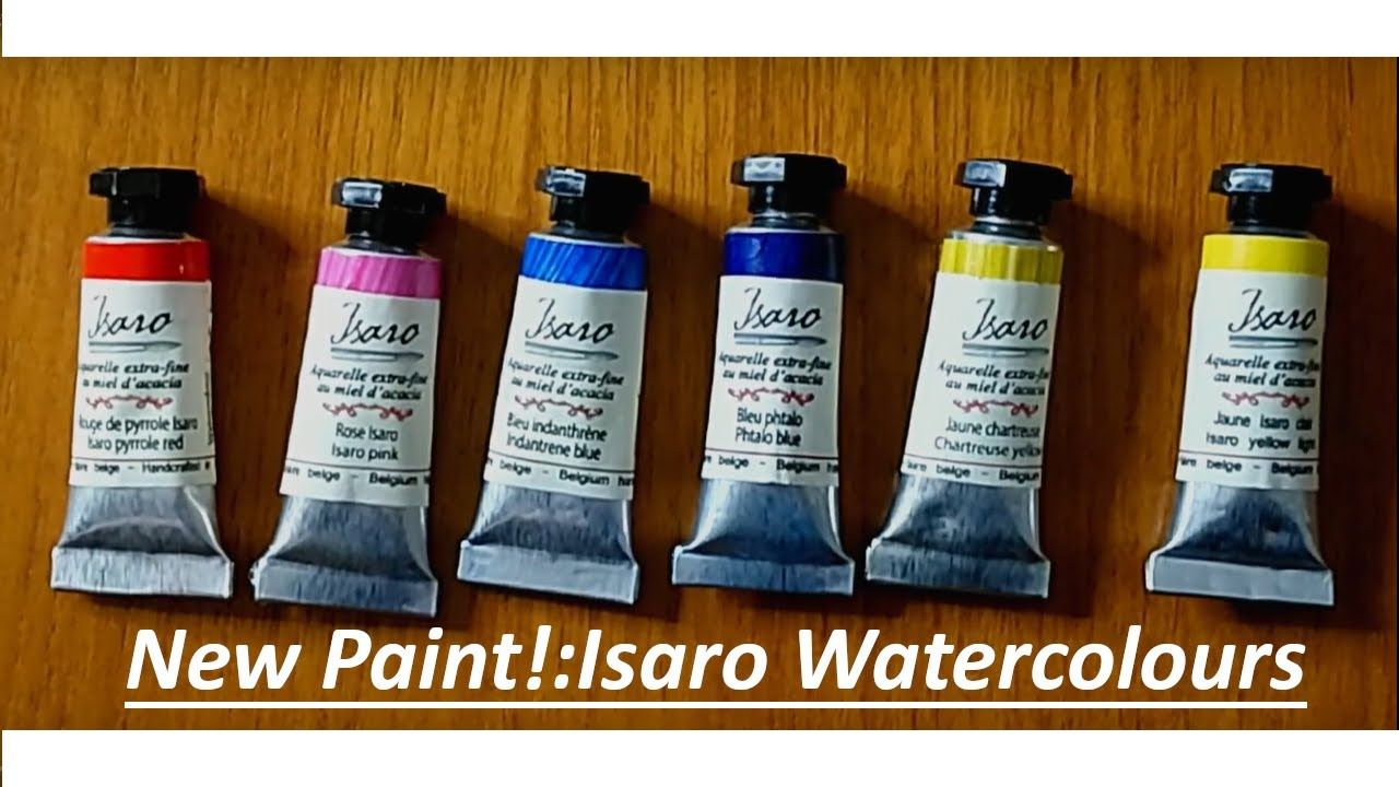 Watercolour Review Isaro Watercolours First Impressions