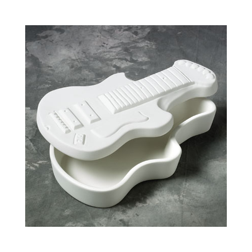 Image result for paint pottery guitar box