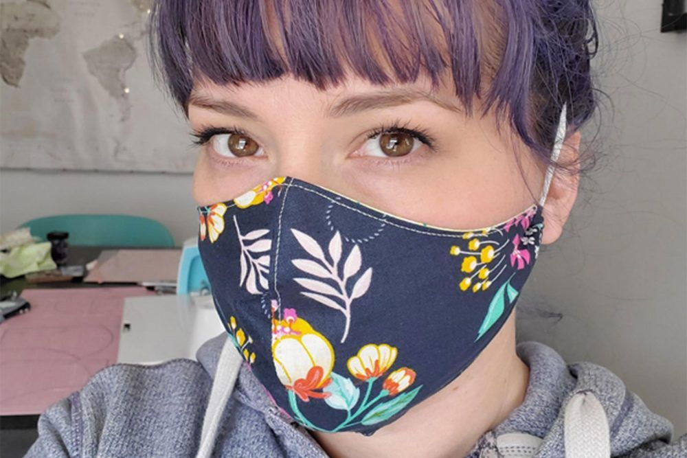Photo of How to make a face mask using Cricut