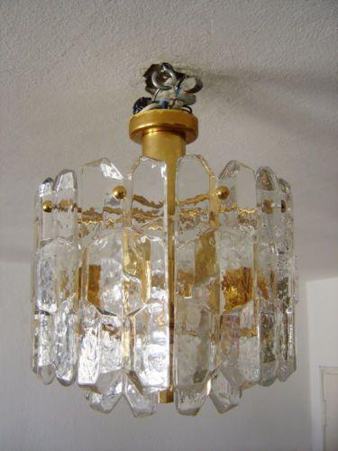 Inspirational MID CENTURY Modern KALMAR Franken CHANDELIER Pendant Ceiling lamp ICE GLASS HD - Elegant mid century ceiling light New Design